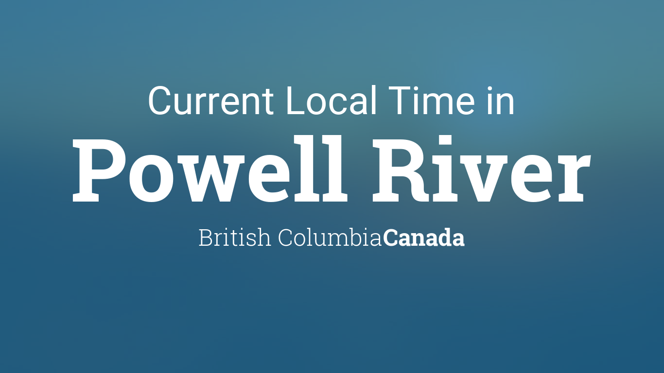Dating Powell River b c