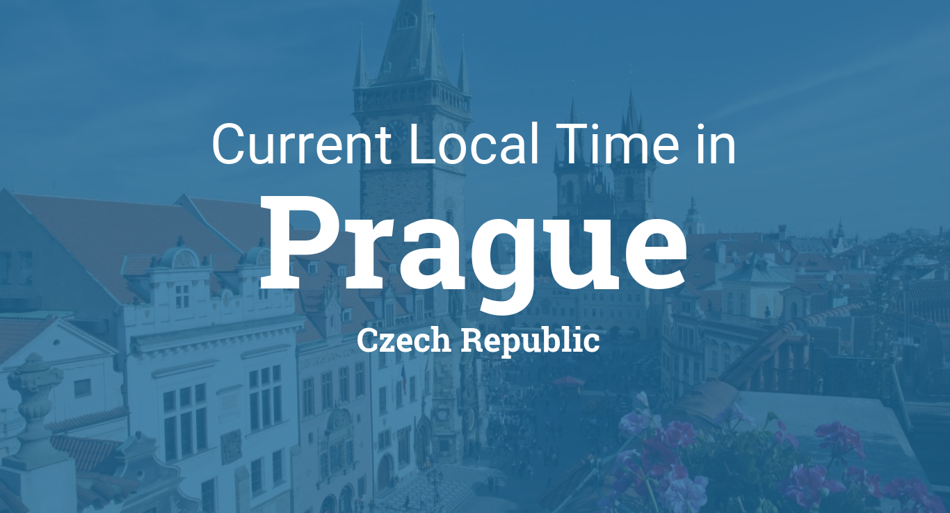 aa85b5621221 Current Local Time in Prague