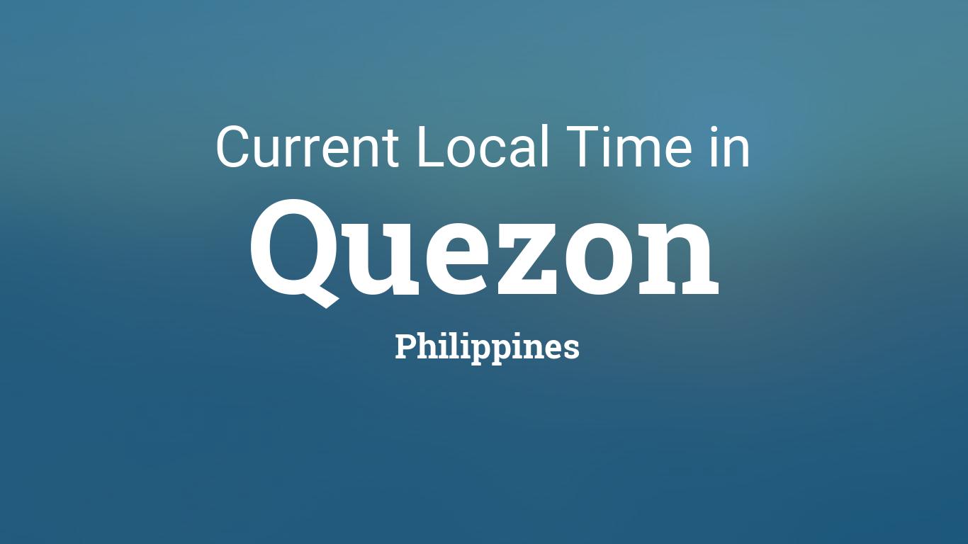Current Local Time in Quezon, Philippines