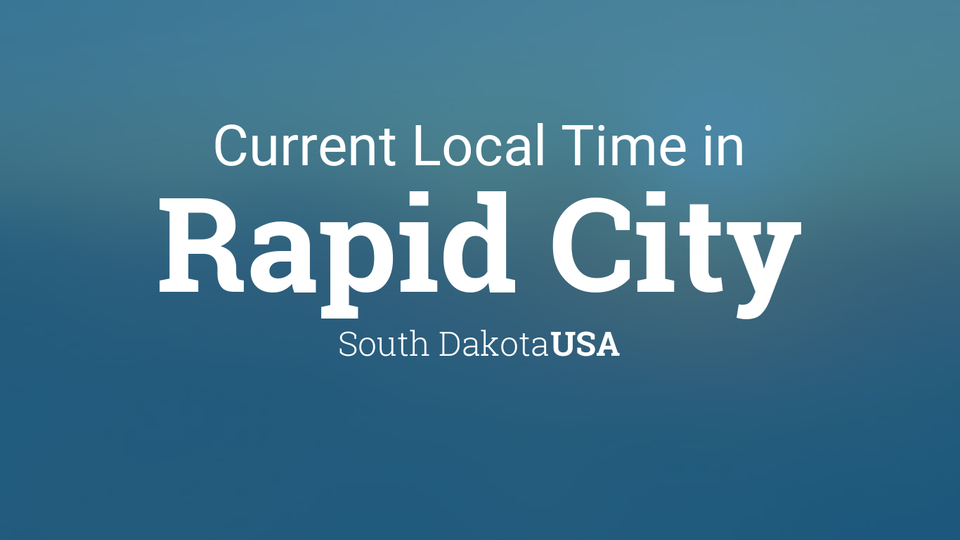 what time is it rapid city sd