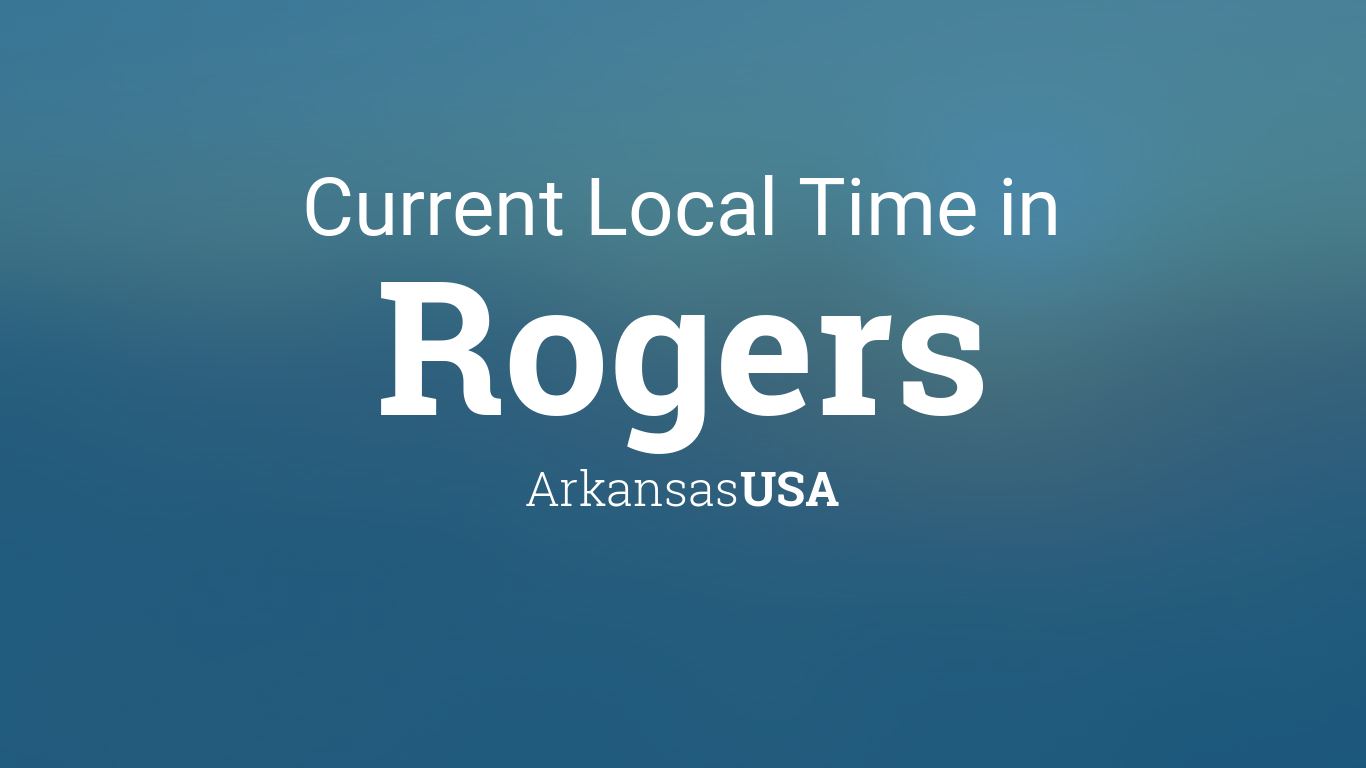 Arkansas Current Time