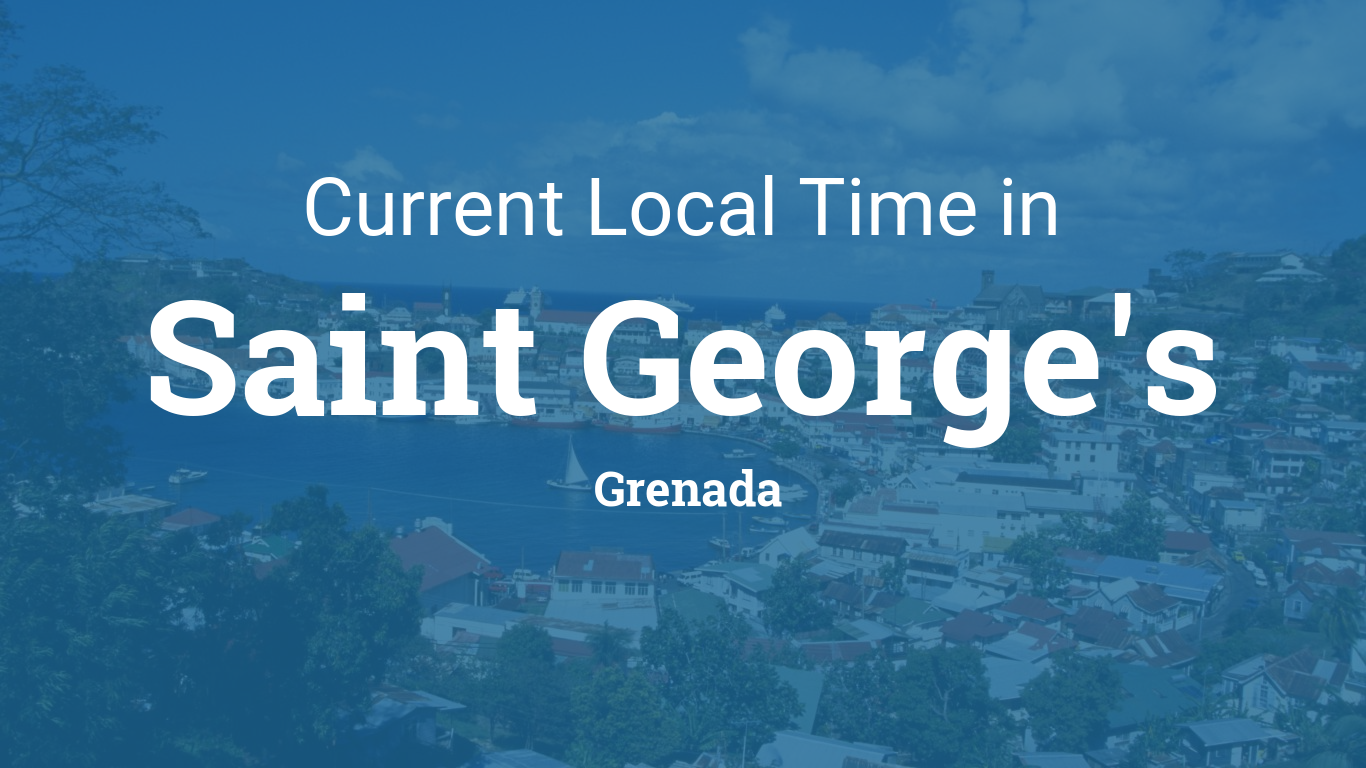 Saint George Florida Map.Current Local Time In Saint George S Grenada