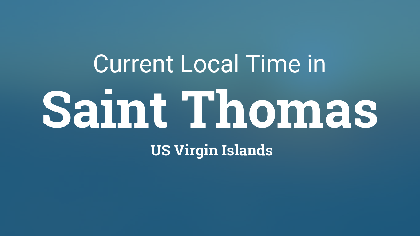Virgin Islands Local Time