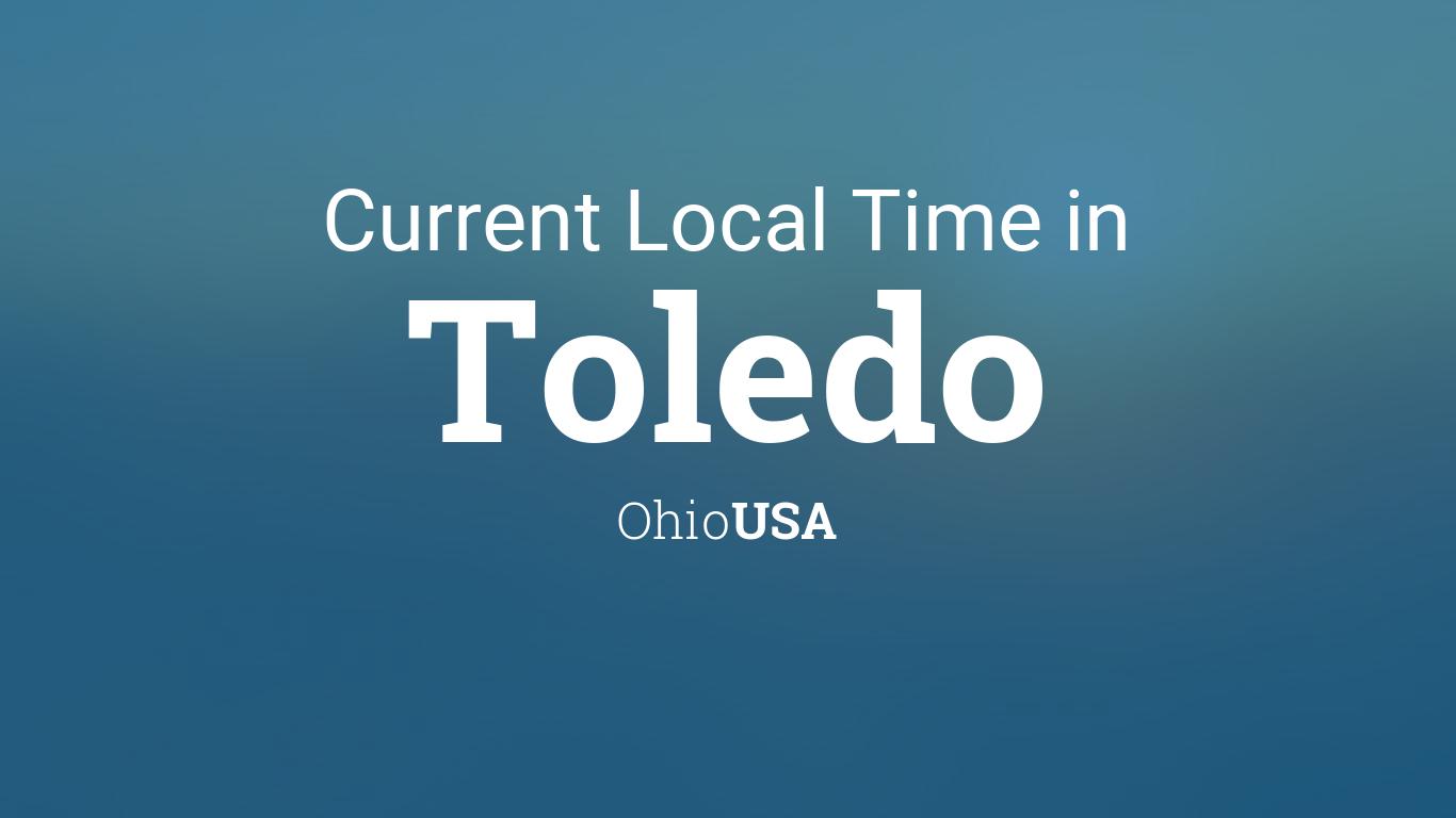 Current Local Time in Toledo, Ohio, USA