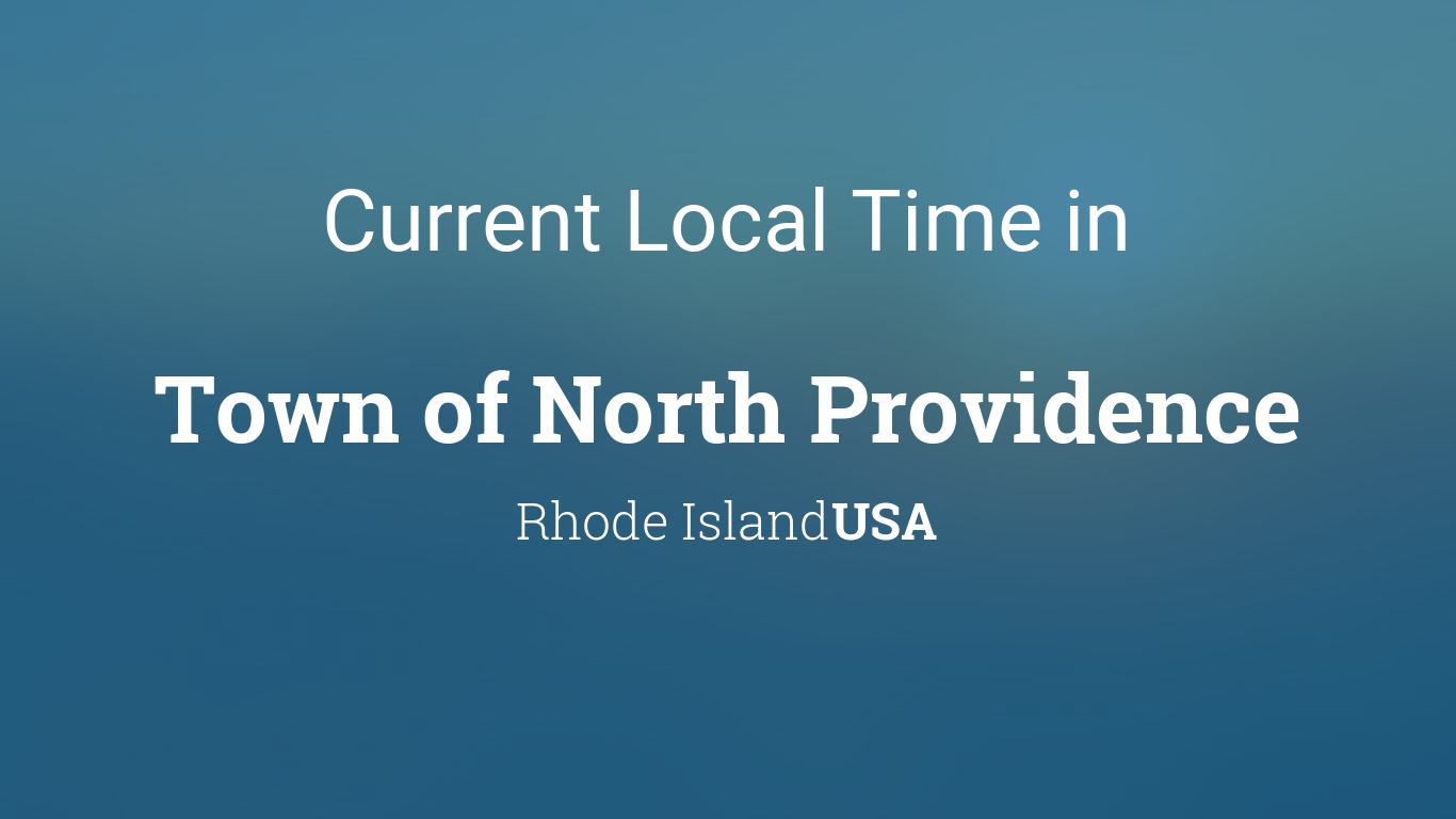 what is the time in rhode island