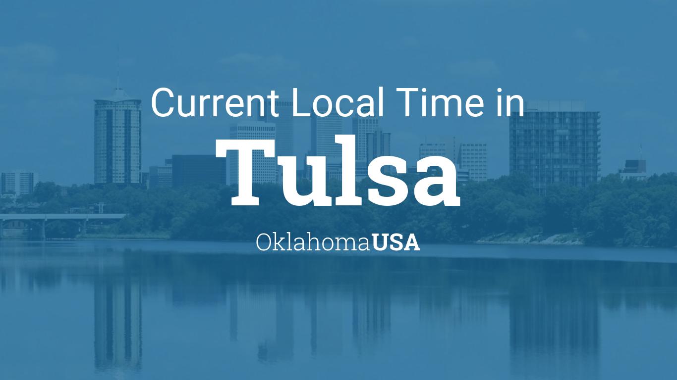 Tulsa Ok Time Zone >> Current Local Time In Tulsa Oklahoma Usa