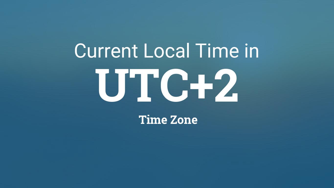 Utc + 2