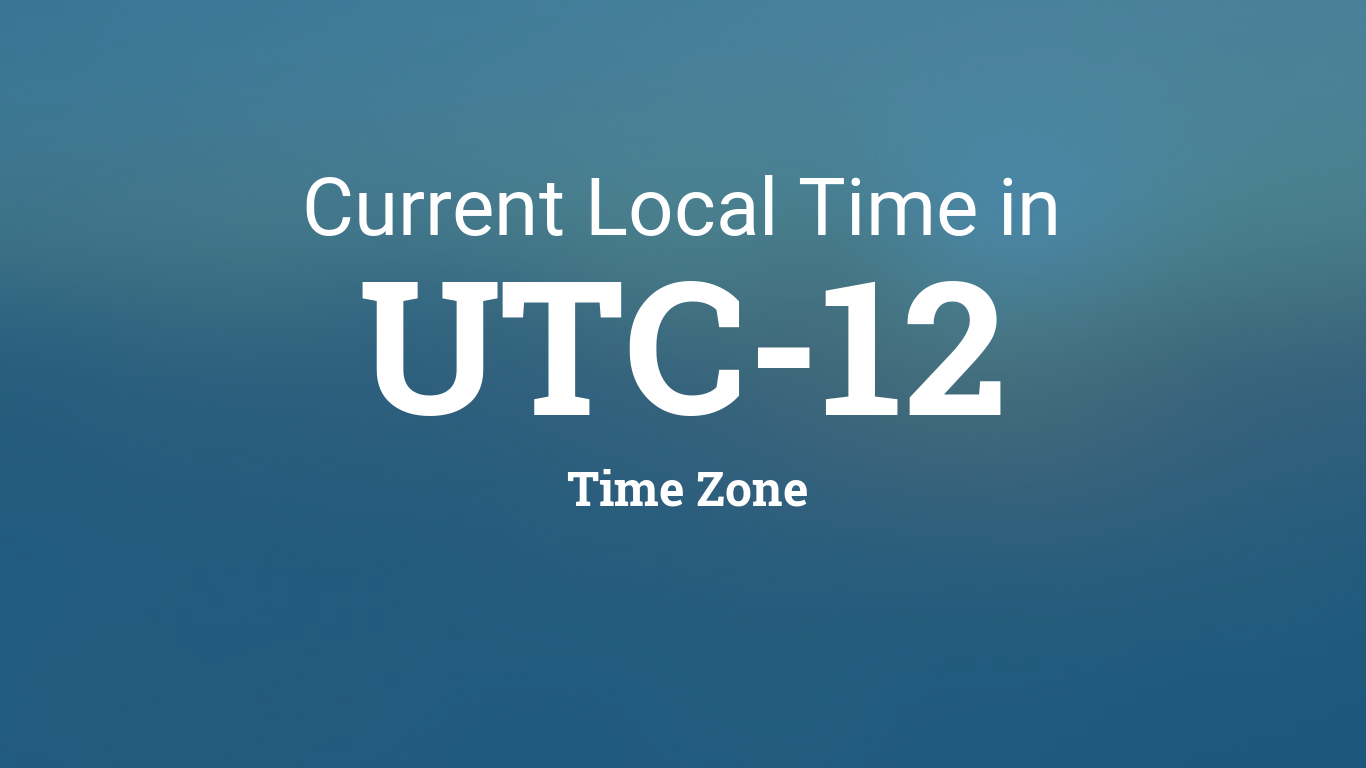 utc12 0