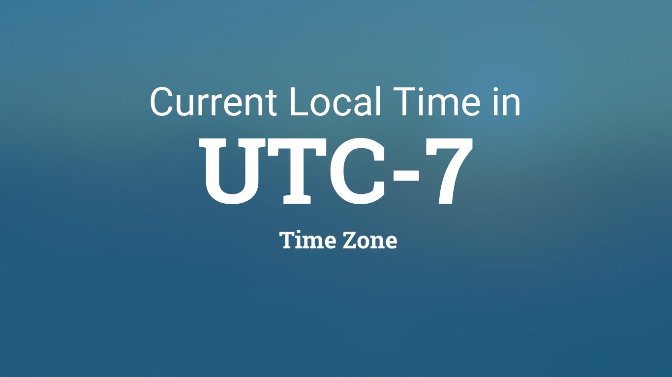 Utc-7