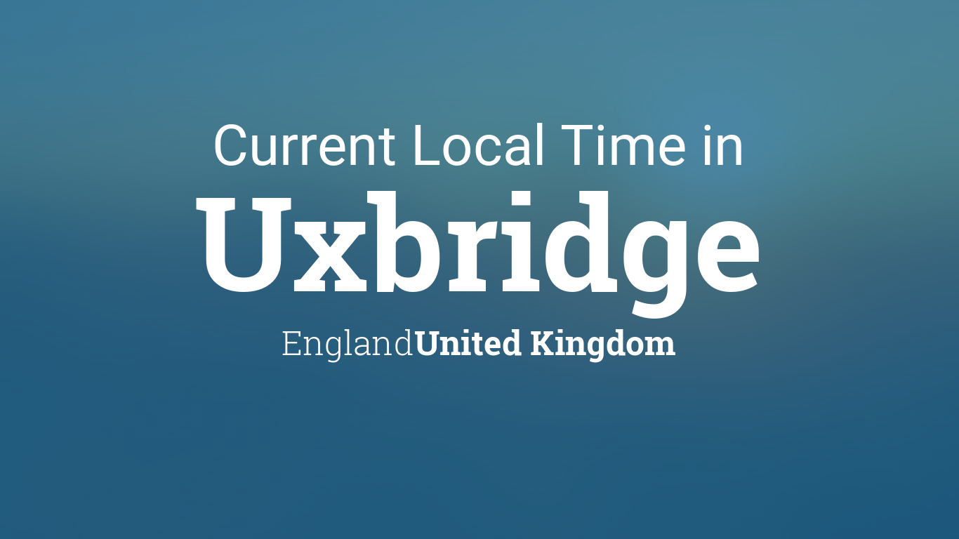 Map Of England 980 Ad.Current Local Time In Uxbridge England United Kingdom