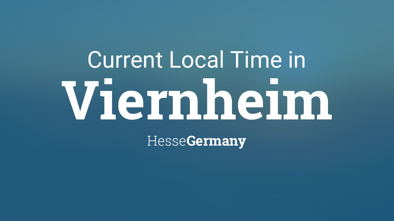 Map Of Viernheim Germany.Current Local Time In Viernheim Hesse Germany