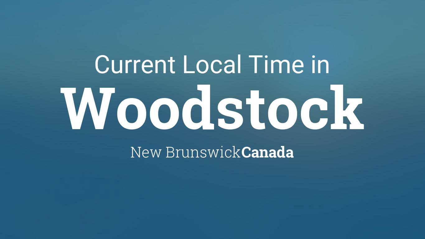 Dating i woodstock nb