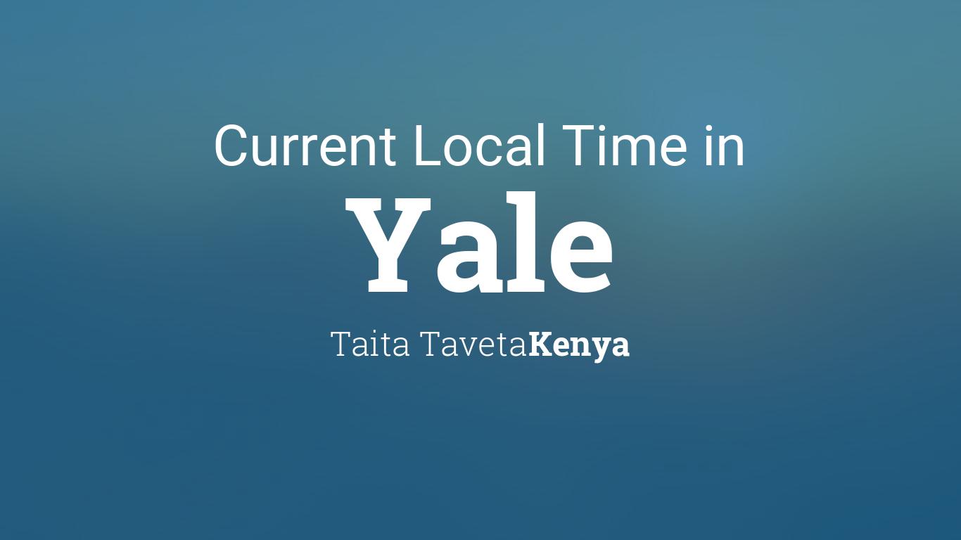 Yale 2022 Calendar.Current Local Time In Yale Kenya