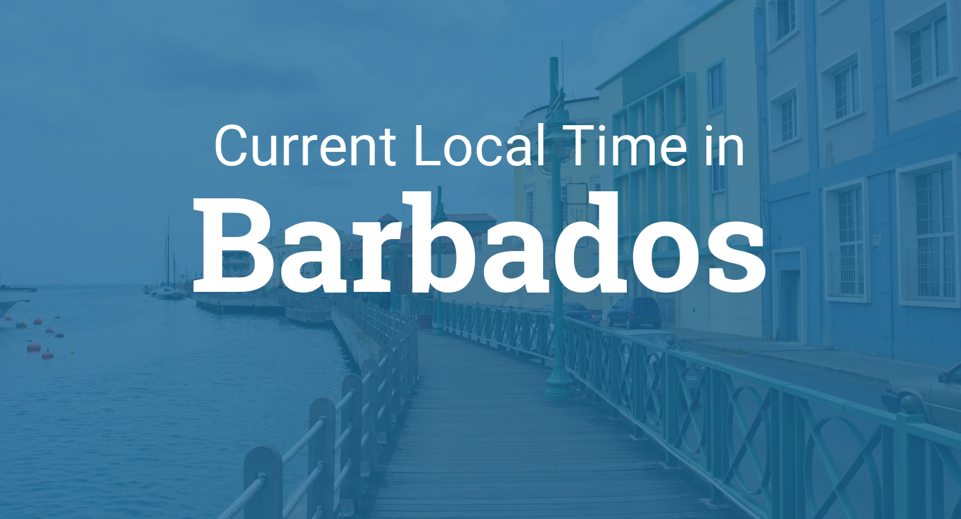 Time In Barbados