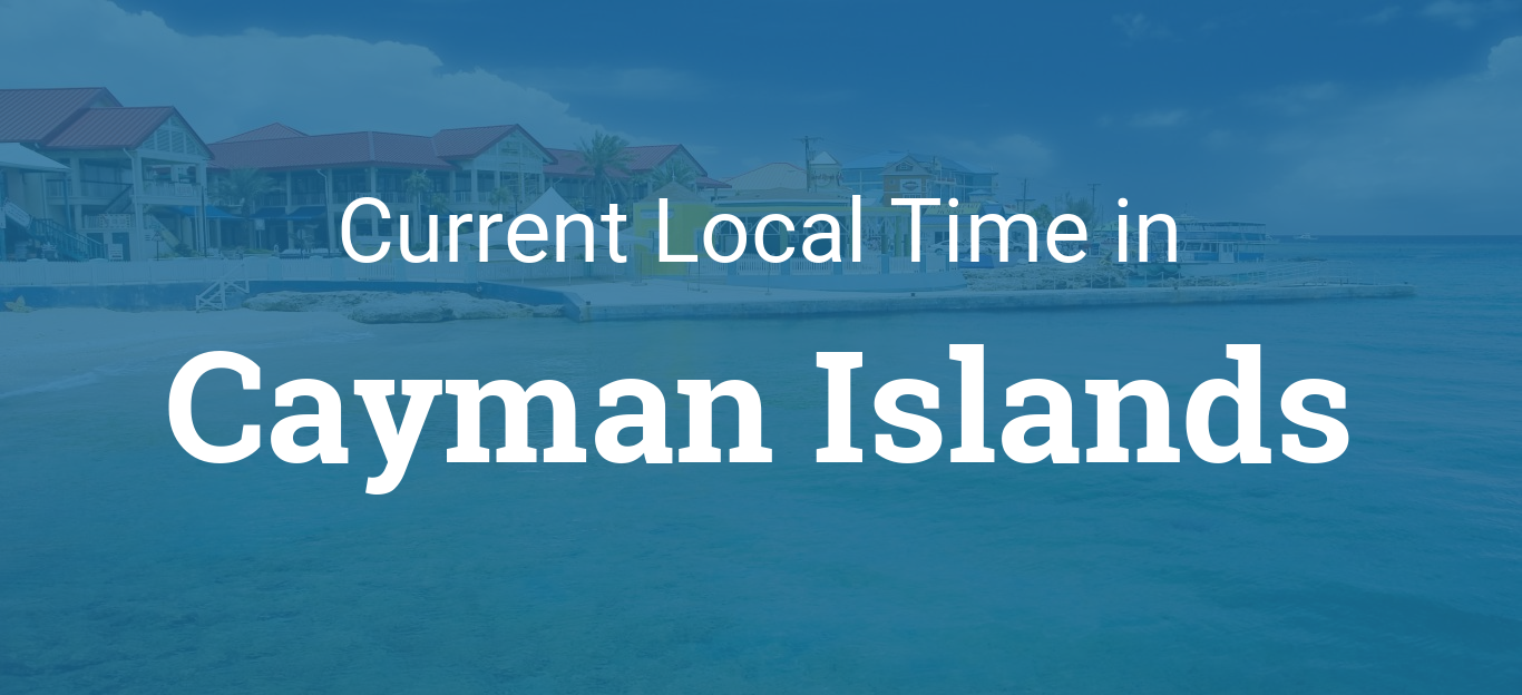 Time in Cayman Islands