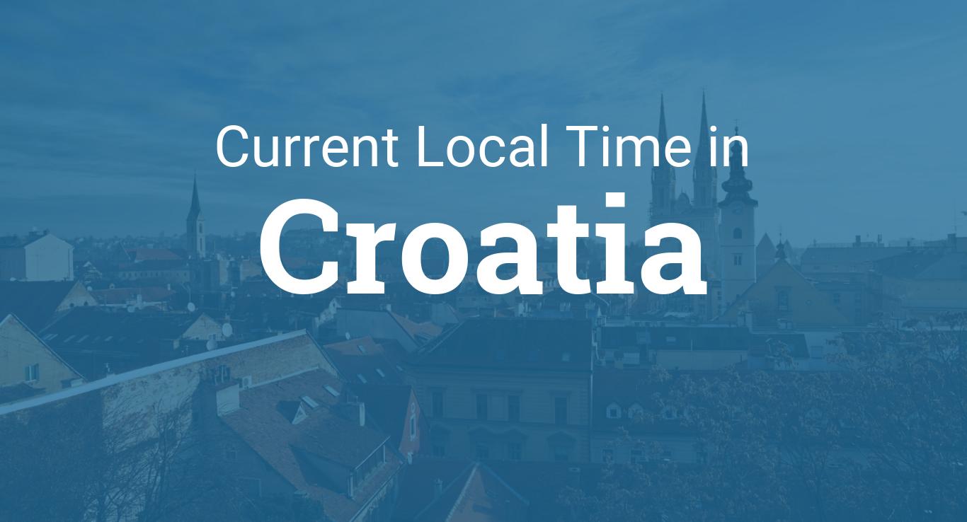 Time In Croatia