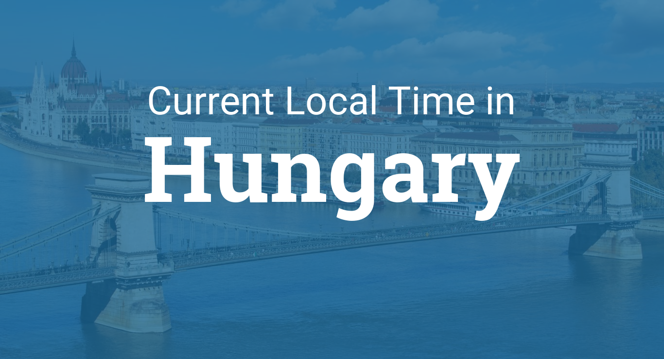 Current Local Time In Hungary - Hungary time zone map