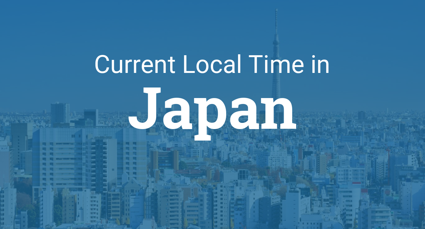 Time in Japan