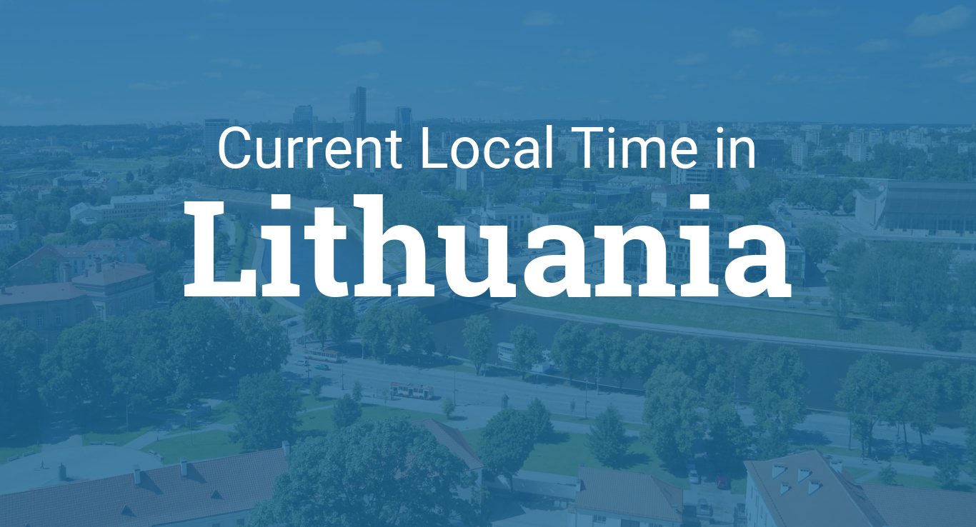 Time in Lithuania