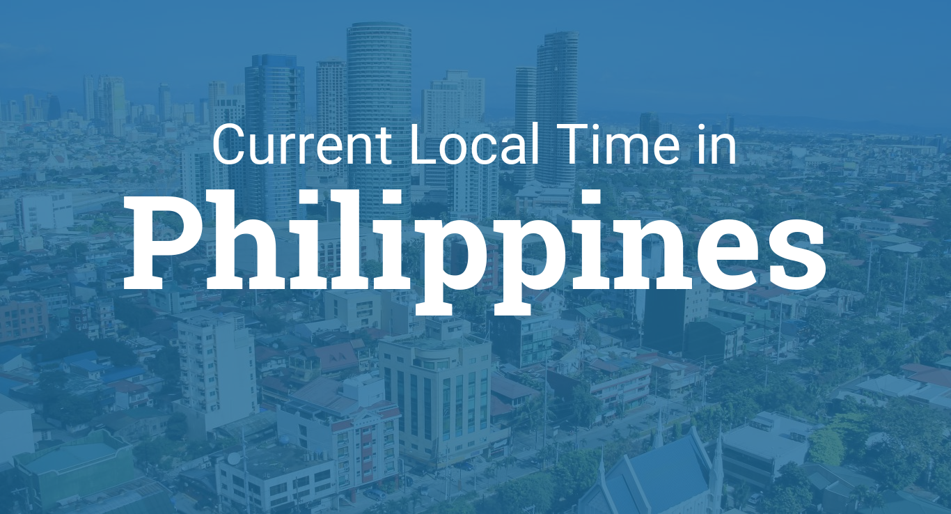 What date in the philippines today