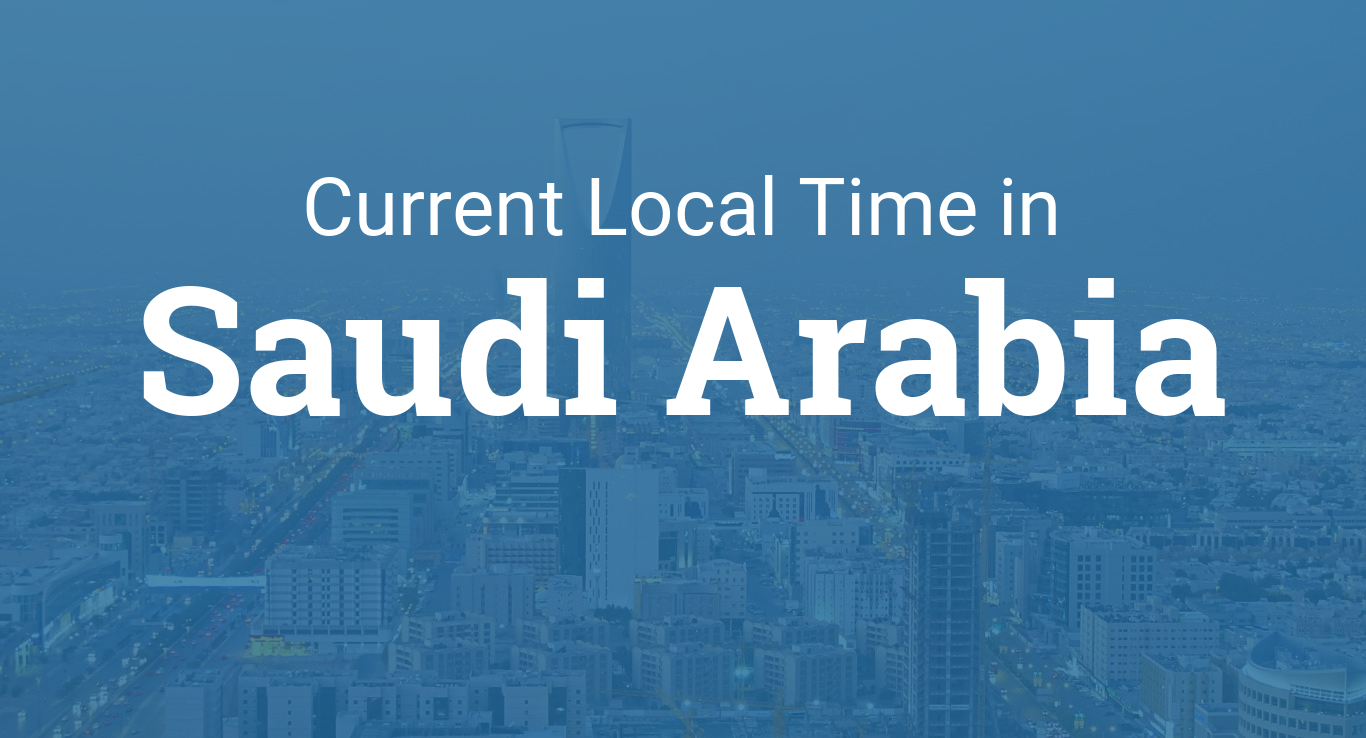 Time in Saudi Arabia
