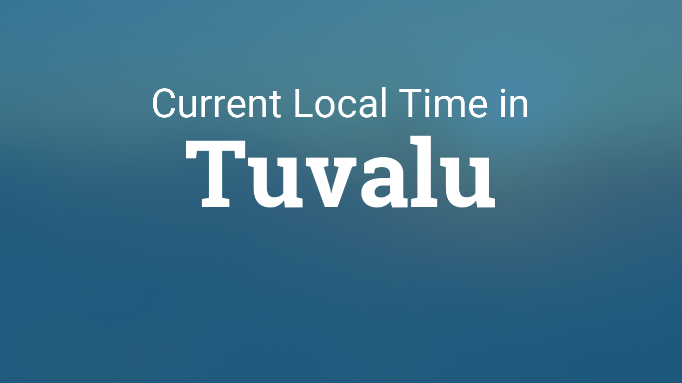 Time in Tuvalu