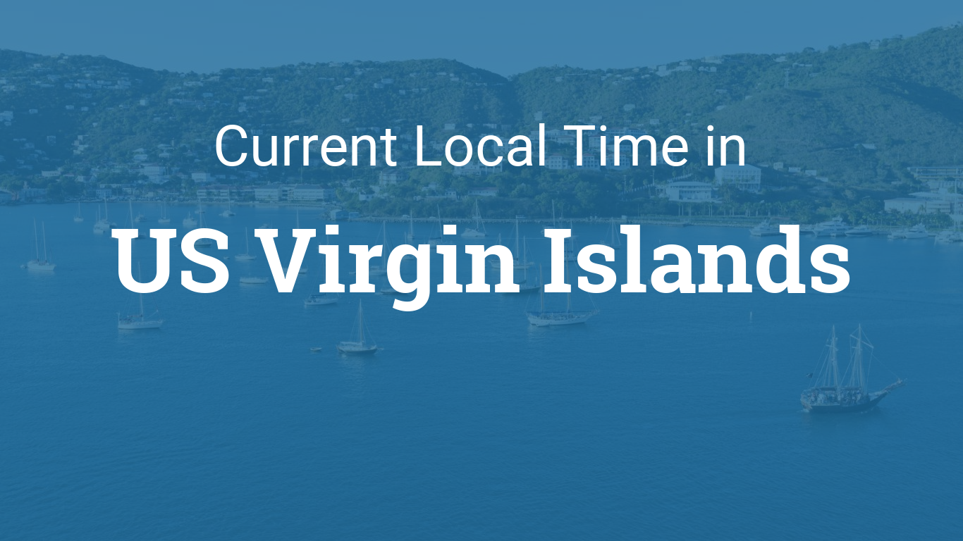 Virgin Islands Time Zone Difference