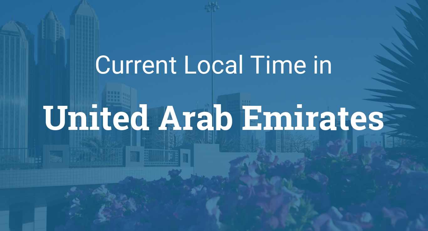 Time in United Arab Emirates