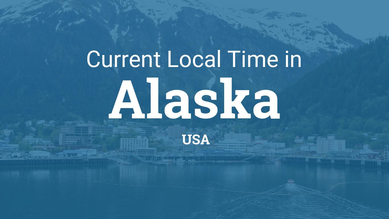 Point Thompson Alaska Map.Time In Alaska United States