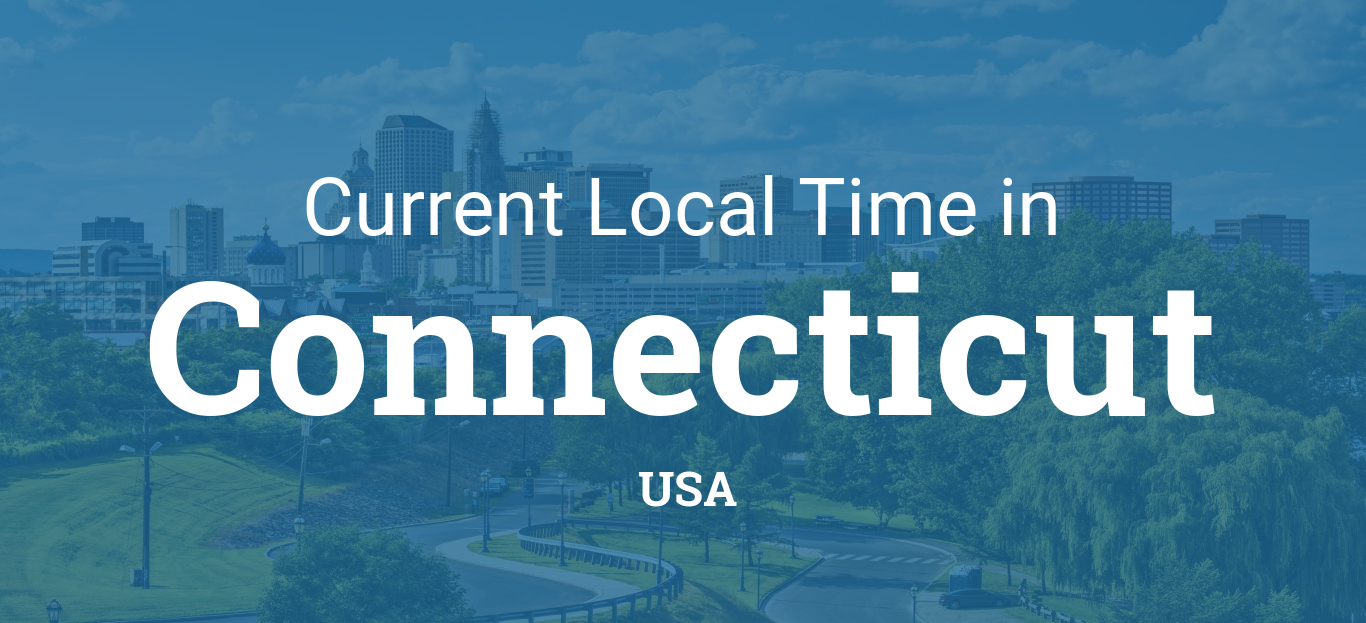 Time in Connecticut, United States