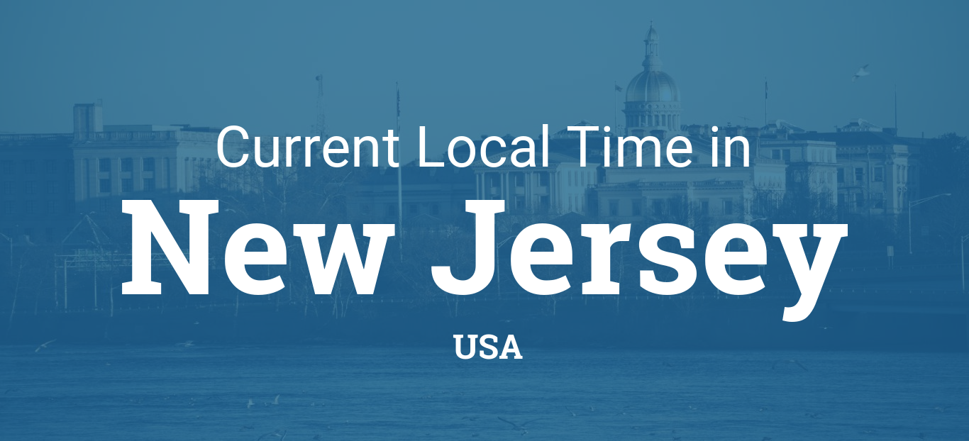 Time in New Jersey, United States