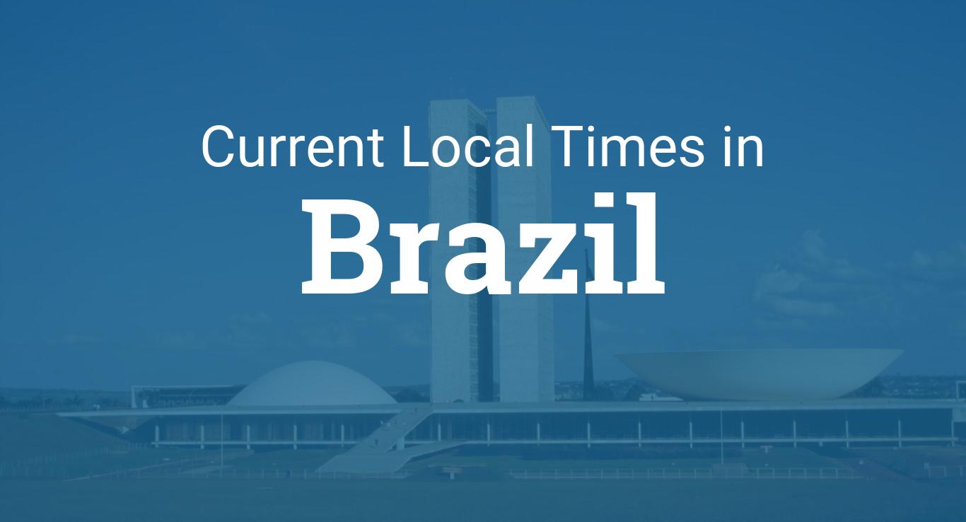 Time in Brazil