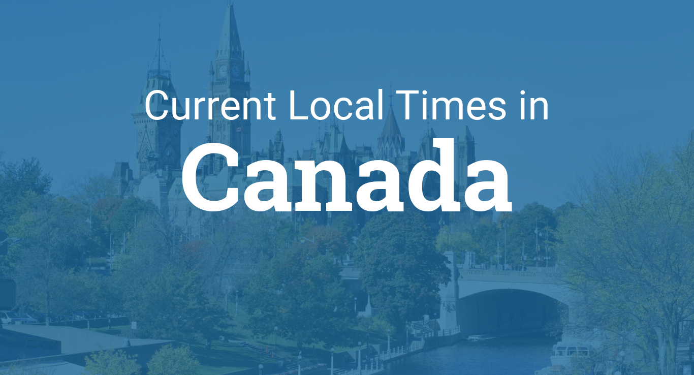 Current local time in canada gumiabroncs Image collections