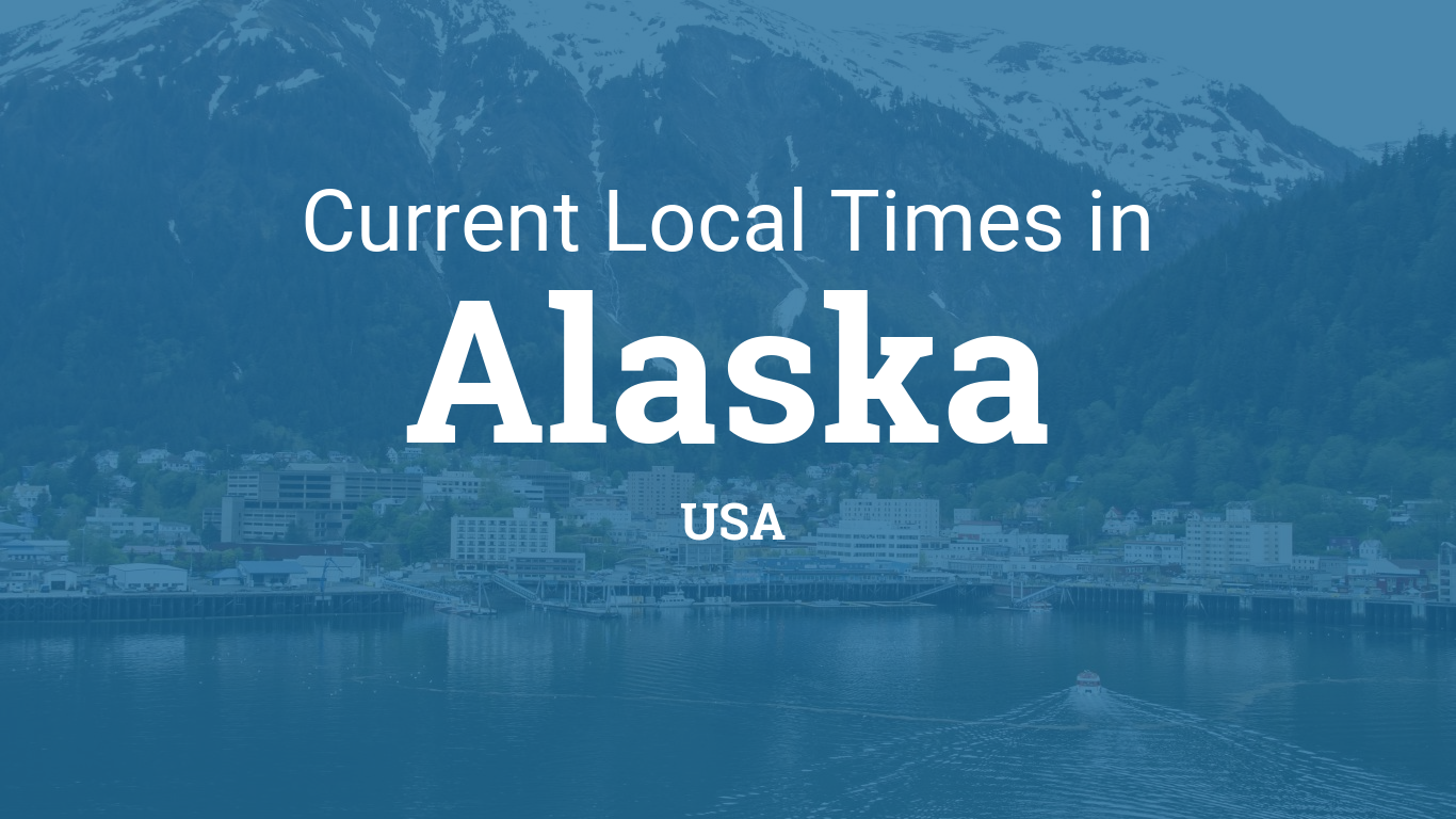 Current Local Time In Alaska United States - Usa time zone map wallpaper