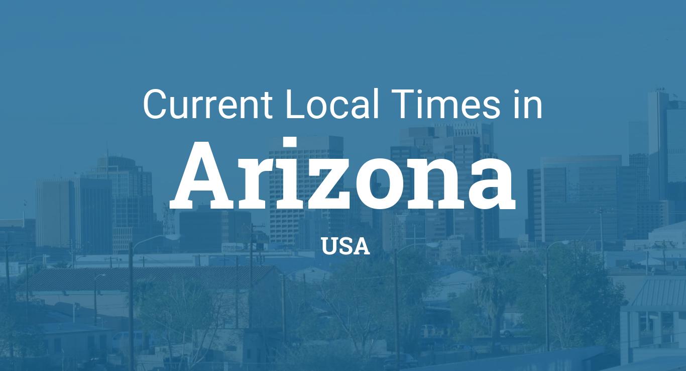 Time in Arizona, United States