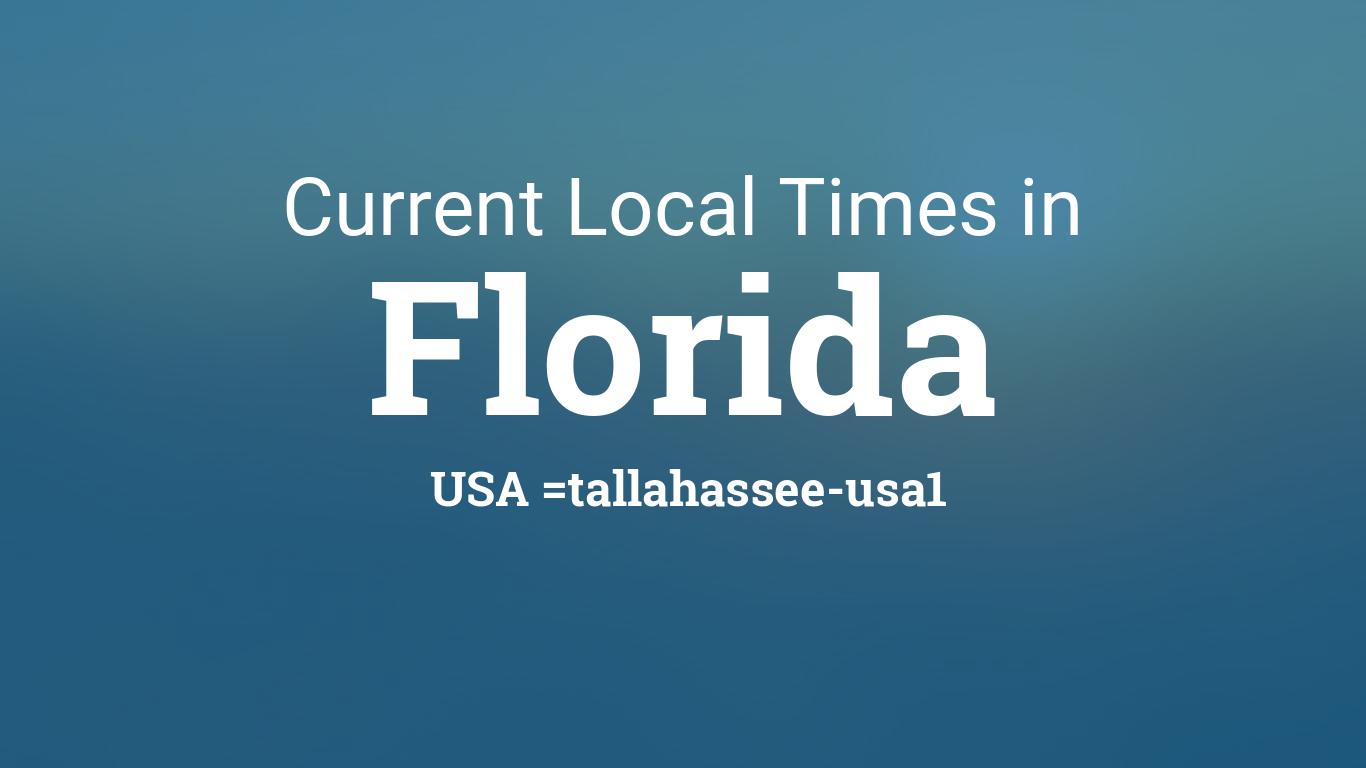 current local time in florida united states. Black Bedroom Furniture Sets. Home Design Ideas
