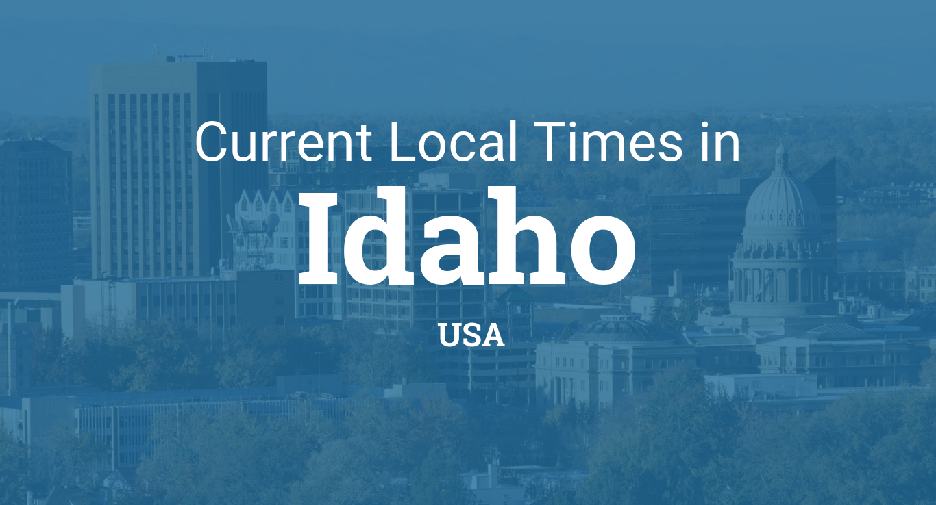 Printable Monthly Calendar With Holidays : Current local time in idaho united states