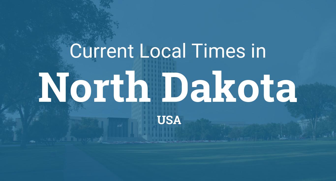 Time in North Dakota United States