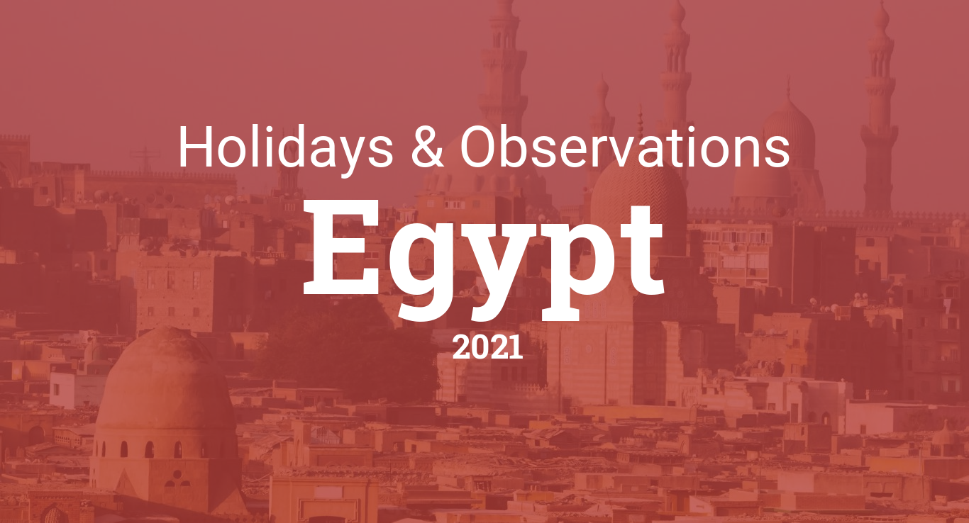 Holidays and observances in Egypt in 2021