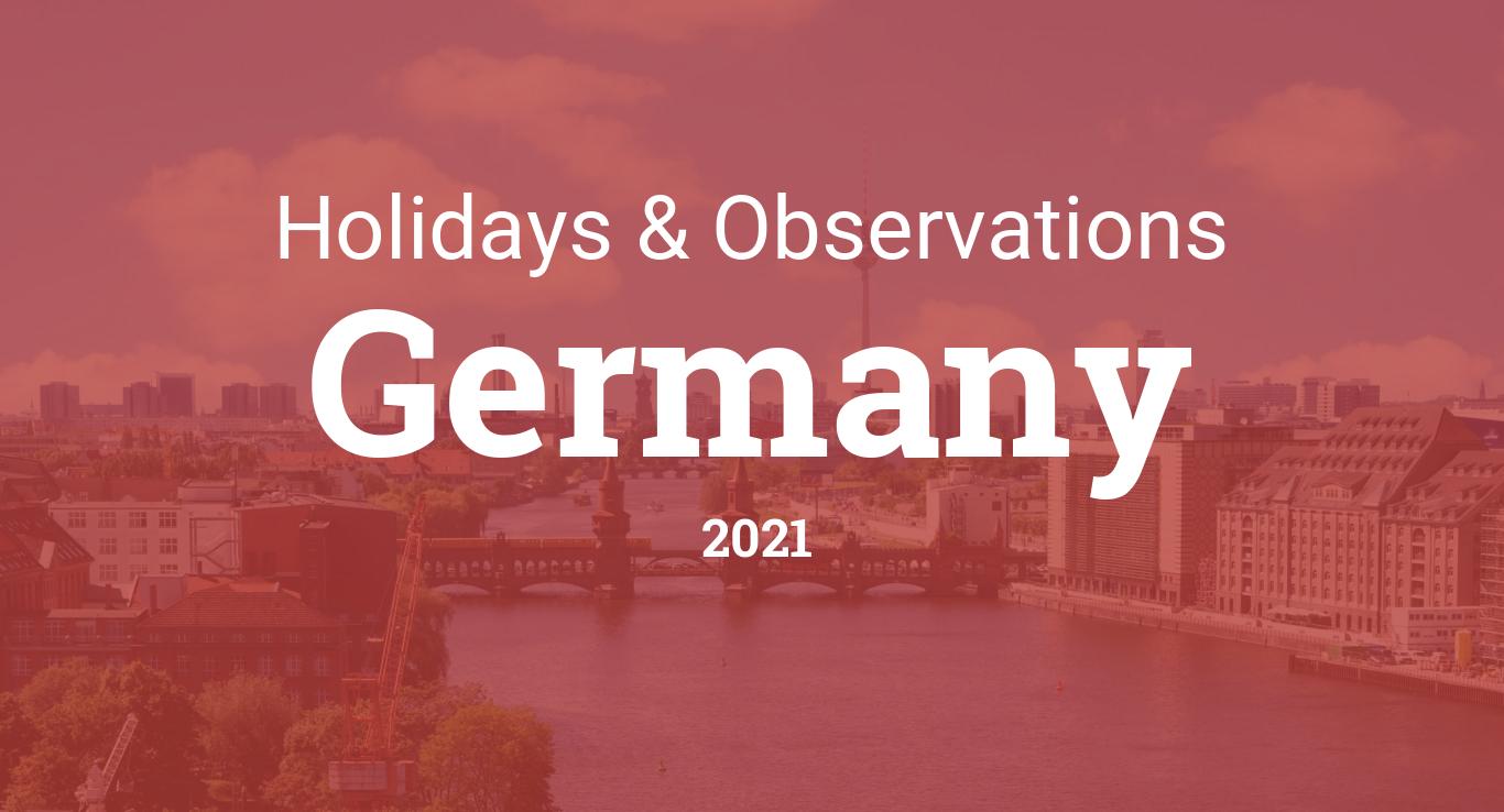 Holidays Berlin 2021
