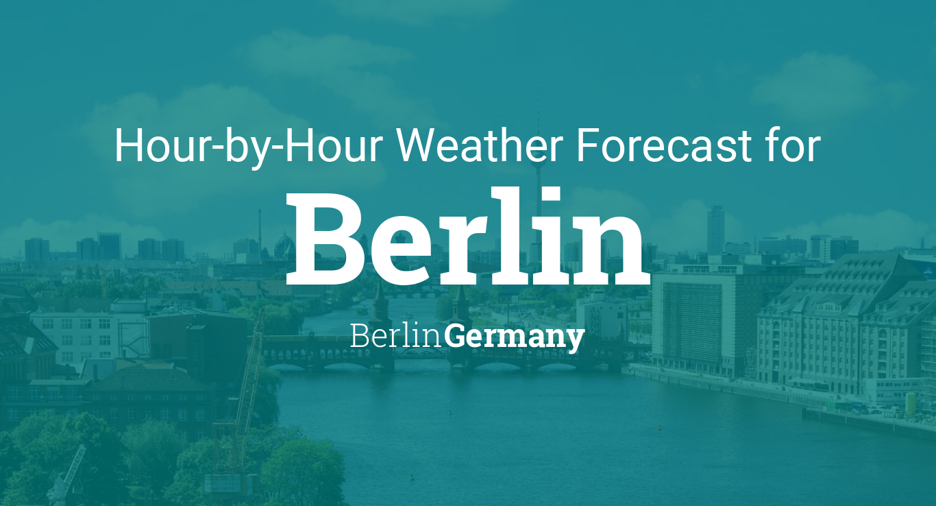 Hourly forecast for Berlin, Germany