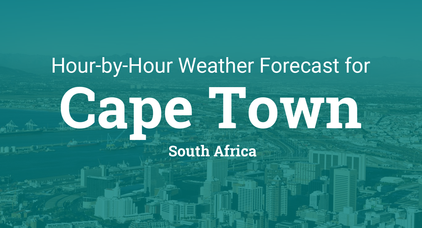Hourly Forecast For Cape Town South Africa