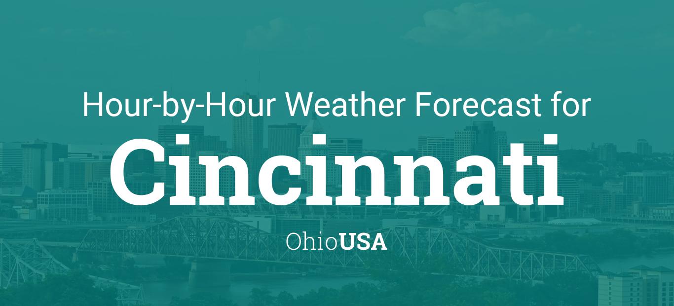 Hourly Forecast For Cincinnati Ohio USA - Us weather map next 24 hours