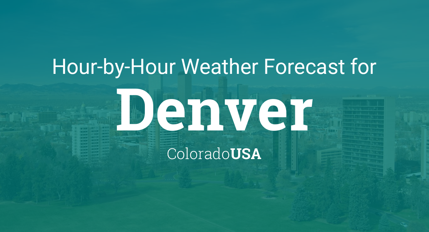 Denver Weather Today Hourly - US Weather News