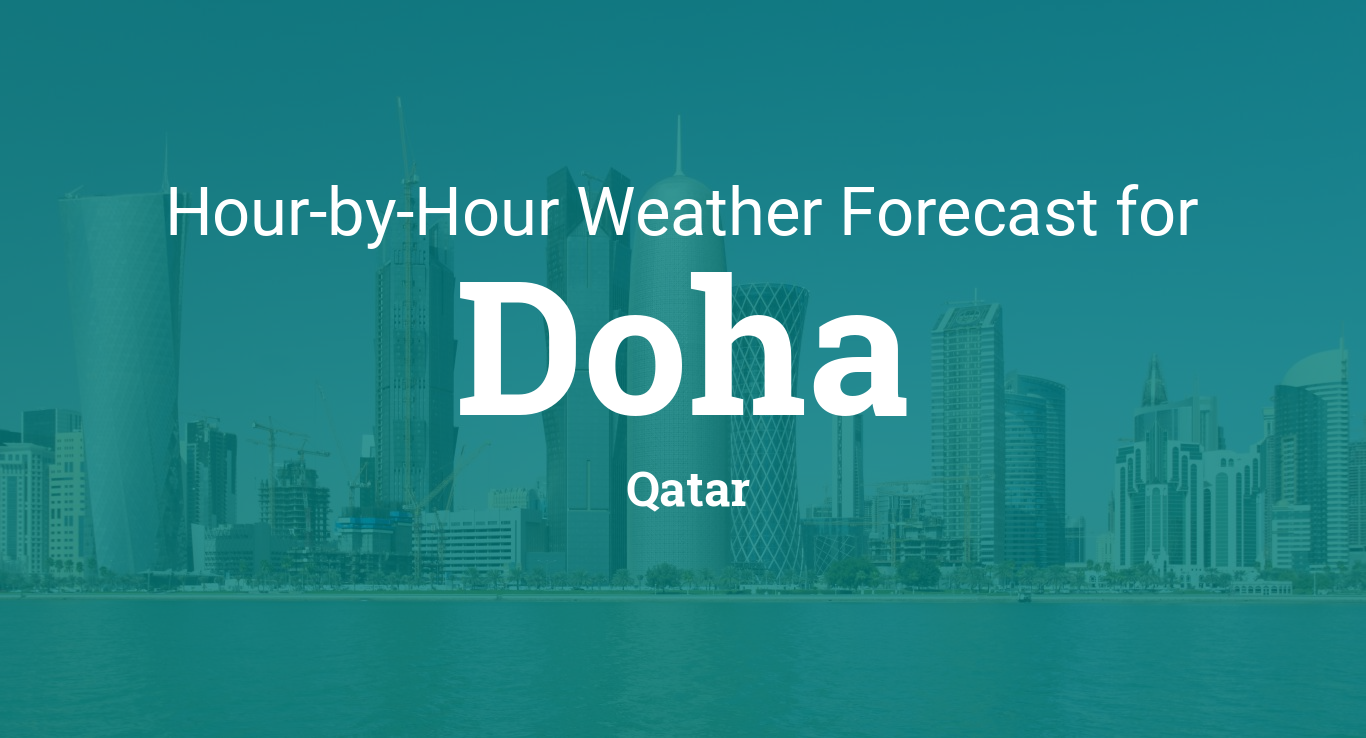 Hourly forecast for Doha, Qatar