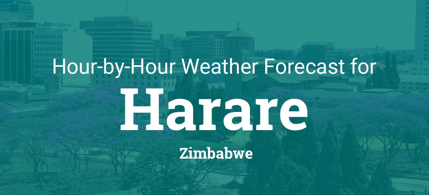 Hourly forecast for Harare, Zimbabwe