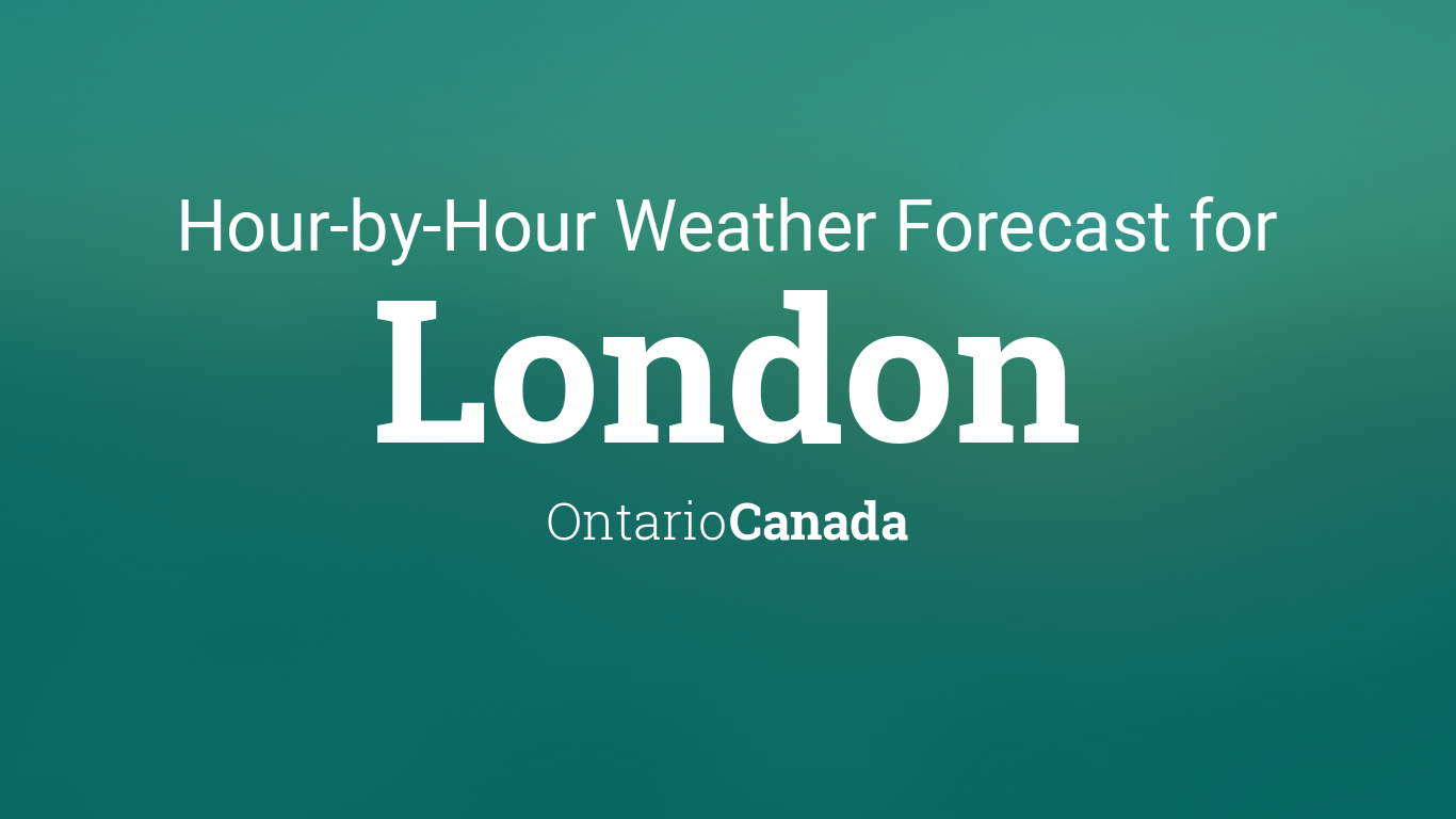 Monthly Year Calendar : Hourly forecast for london ontario canada