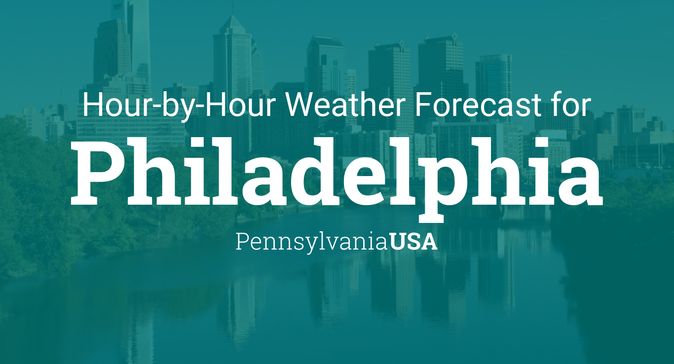 Hourly Calendar For 16, 17 18 February 2019 Hourly forecast for Philadelphia, Pennsylvania, USA