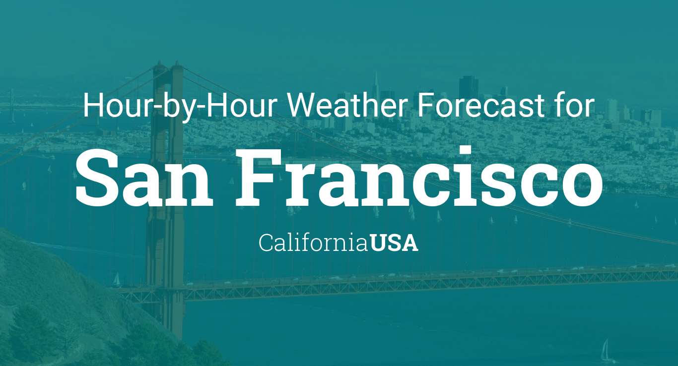 Hourly Forecast For San Francisco California Usa