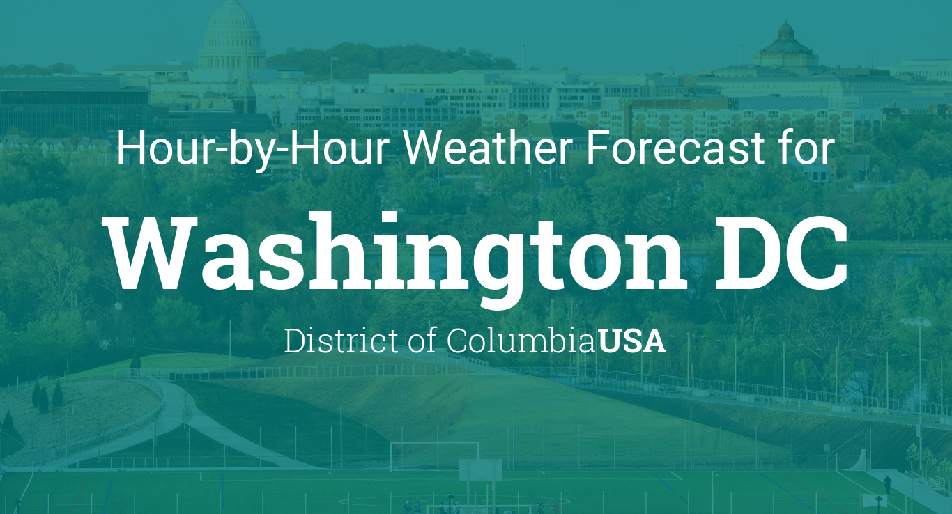 Hourly Forecast For Washington Dc Usa